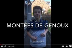 Cercle d'escrime du Pays de Fougères - Exercices en confinement
